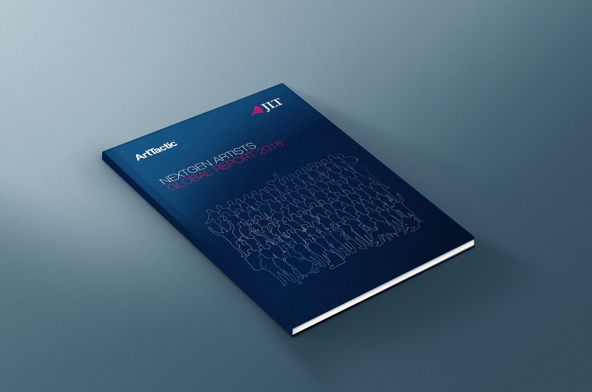 NextGen Artists Global Report designed by Elsie Lam